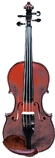 Photograph of a violin